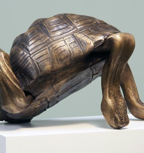 Schildkröte -Auflage 1/1 -Bronze-2009